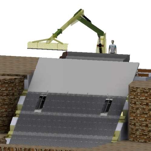 Rénovation de la prise d'eau de la centrale du Rudet