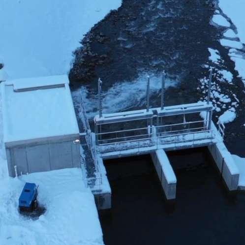 Centrale hydroéléctrique de la Meije